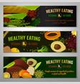 healthy food vitamin b9 vector image