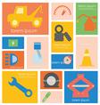 Icon Car Service vector image