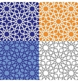 Arabic islamic seamless patternColored vector image