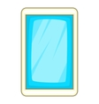 Blue smartphone icon cartoon style vector image