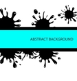 splash abstract background vector image vector image