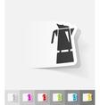 realistic design element coffee pot vector image