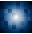 Dark blue technology template vector image