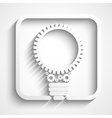 creative bulb vector image vector image