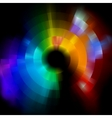 colorful abstract vector mosaic background eps 8 vector image vector image