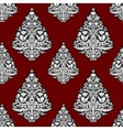 Christmas seamless pattern in folk style vector image