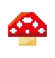 fongus game pixelated icon vector image