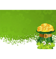 Patrick Day Frame vector image