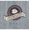 fish restaurant vector image