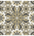 Seamless round pattern for printing on fabric or vector image vector image
