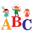 AbcKids vector image