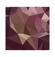 Deep Tuscan Red Purple Abstract Low Polygon vector image