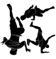 collection breakdance break dance vector image