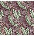 Zentangle pattern vector image vector image
