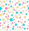 Bright stars seamless texture vector image