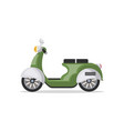urban scooter isolated icon vector image