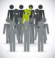 Volunteer design vector image