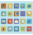 Flat icons for web design - part 3 vector image