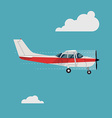 Small Plane vector image vector image