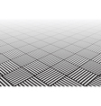 Textured checked surface vector image vector image
