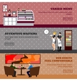 Cafe  Design of coffee shop vector image