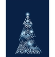 Blue Magic Tree vector image vector image