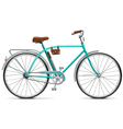 Bicycle with Rounded Frame vector image