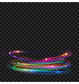 Light effects vector image vector image