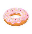 isometric doughnut vector image