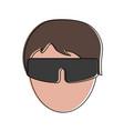 sunglasses fashion isolated vector image
