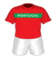 Portugal dres resize vector image vector image