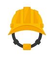 helmet head protective industrial vector image