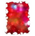 Shiny bokeh light Valentines day EPS 8 vector image