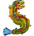 Dragon Rainbow Isolated vector image