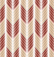 Herringbone pattern strokes vector image