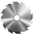 Realistic circular saw vector image