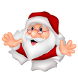 Santa Clause cartoon vector image