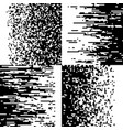 black and white pixelation pixel gradient mosaic vector image