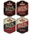 Set beer premium vector image