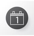 calendar month icon symbol premium quality vector image