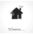 Sweet home icon vector image