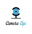 Camera eye vector image vector image
