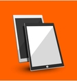 Tablet flat concept vector image