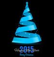 Ribbon NY 2015 z Ribbon NY 06 vector image vector image