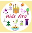 set of KIds Art drawings vector image