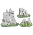 Isometric Mountain landscape vector image