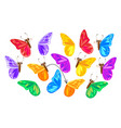 find a second wing for a butterfly vector image