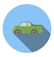 Pickup icon flat style vector image