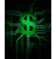 dollar vector image
