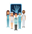 professional medical people vector image